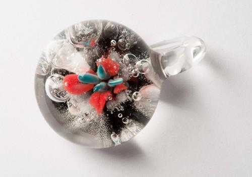 Pendientes y Joyas en vidrio soplado 1