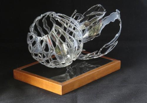 Escultura mis mundos rotos